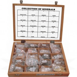 VKSI Collection of 20 Minerals
