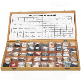 VKSI Collection of 50 Minerals