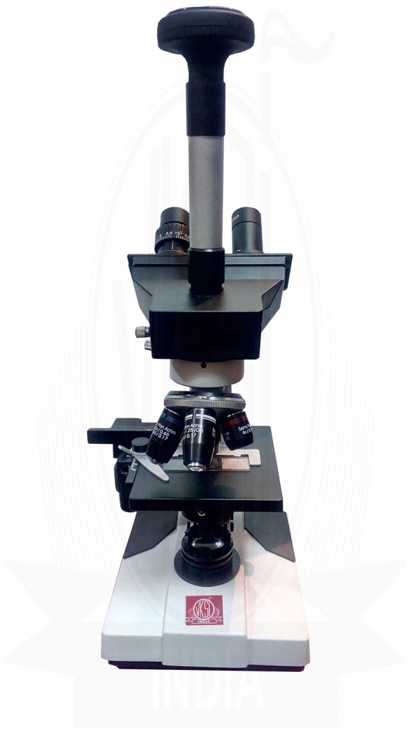 VKSI Trinocular Microscope with DIN Objective and Camera 40x - 2000x